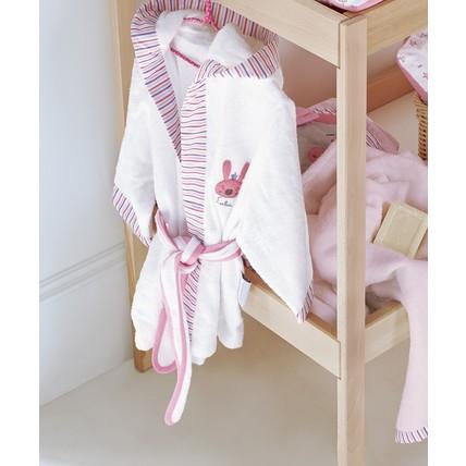Βρεφικό Μπουρνούζι Kentia Family Toys σειρά Baby - Λευκά είδη σπιτιού b348cdab087